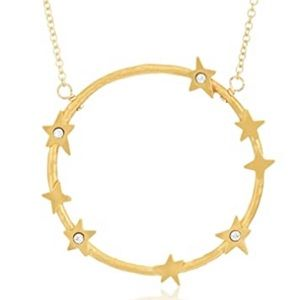 Dogeared infinite love dainty necklace in gold